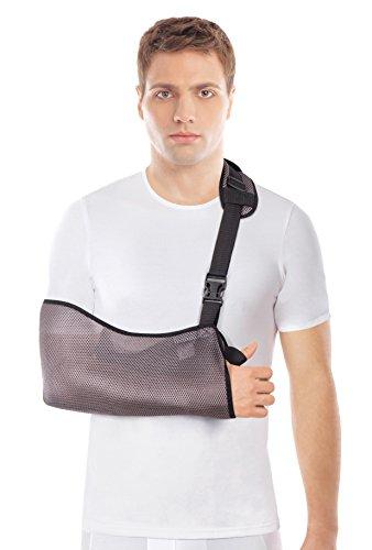 Cabestrillo de brazo transpirable - Brazo soporte de hombro-Hombro  cabestrillo para brazo clavícula- 0b6203067eda