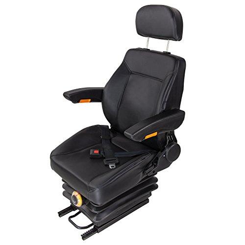 DEMA Universal Traktorsitz mit Kopfstütze und Armlehne