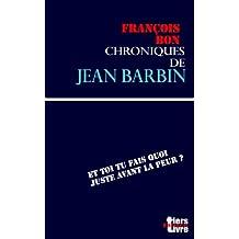 Chroniques de Jean Barbin