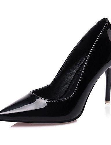 WSS 2016 Chaussures Femme-Décontracté-Noir / Violet / Rouge / Blanc / Argent / Beige / Corail-Gros Talon-Talons-Talons-Laine synthétique beige-us5.5 / eu36 / uk3.5 / cn35