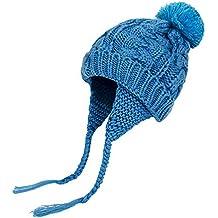 26272c71cb9c5 K-youth Chic Caliente Sombreros Bebé Invierno Gorras Bebé Recién Nacido  Sombrero de Punto Niña
