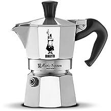 Bialetti Moka Express - Cafetera espresso para 2 tazas