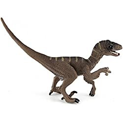 CYRAN Dinosaurios de Juguete para Niños Coleccionista de Figuras Dinosaurios realistas para Niños y Niñas Juguetes para Niños Juguetes de Velociraptor Construir Creatividad para Niños