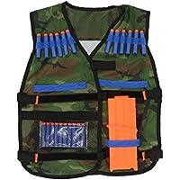 Camo Chaleco Táctico Ajustable para Accesorios para Armas Nerf