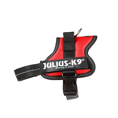 JULIUS-K9, 162RM, K9-Powergeschirr, Größe: Mini, rot