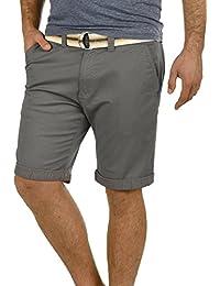 SOLID Lagos Herren Chino Shorts kurze Hose mit Gürtel