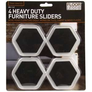 4 Piece Furniture Sliders Glider Pads Glides