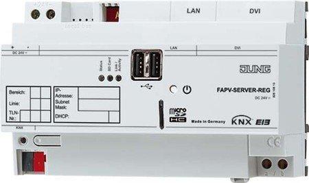 Jung KNX REG-Server FAPV-SERVER-REG KNX Visualisierungs-Software 4011377099999