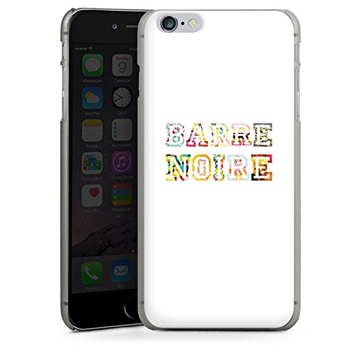 Apple iPhone X Silikon Hülle Case Schutzhülle schrift fashionweek college Hard Case anthrazit-klar