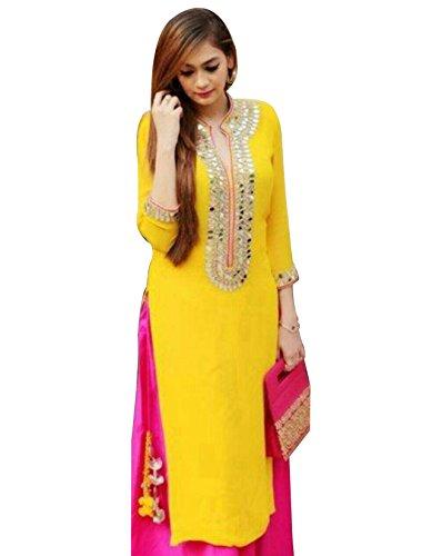 Reeva Trendz Women\'s Cotton Printed Unstitched Regular Wear Salwar Suit Dress Material
