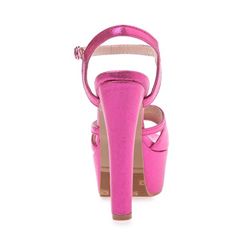 Adee , Sandales pour femme Rose/rouge