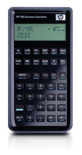 Hewlett Packard HP20b Finanzmathematischer Taschenrechner - Cash Register Taste