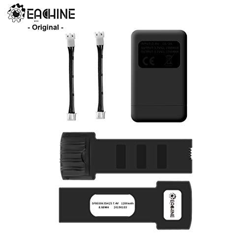 EACHINE E511 E511S 2PCS Juego de baterías y Cargador de baterías