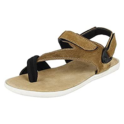 Fusion Club Smart and Comfortable Leather Sandals for Men