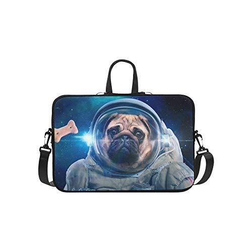 Raum Hund Raumanzug Aktentasche Laptoptasche Messenger Schulter Arbeitstasche Crossbody Handtasche Für ()