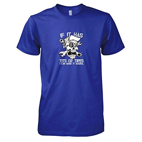 TEXLAB - Make it Squeal - Herren T-Shirt, Größe XXL, (United States Marine Kostüm)