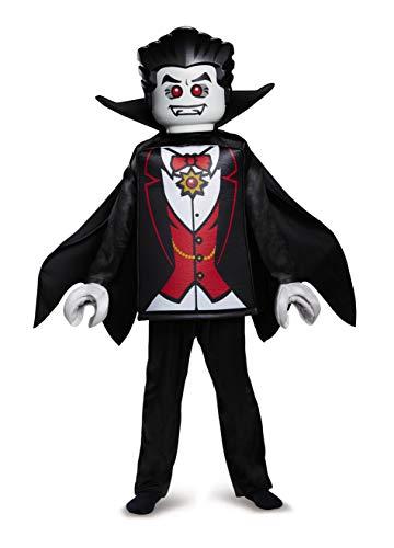 LEGO Iconic - Vampir Deluxe, Kostüm, M (7-8 J.), 127-136 cm (Deluxe Vampir Kind Kostüm)
