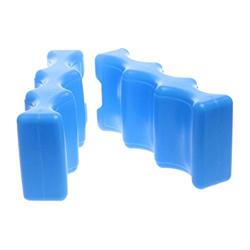 Preisvergleich Produktbild Baoblaze 2pcs Eisbeutel Eispackung Kühlelement Gefrierschrank Transport Milchmasse Blau