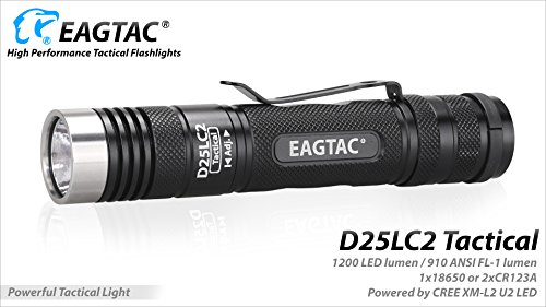 Preisvergleich Produktbild EagTac D25LC2Tactical CW xplhi 1200Lumens 18200Lux 270Meter