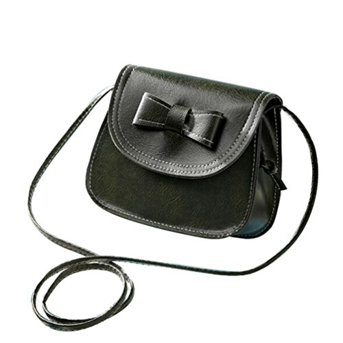 Transer Women Shoulder Bag Popular Girls Hand Bag Ladies PU Leather Handbag, Borsa a spalla donna Multicolore Green 17cm(L)*16(H)*7cm(W), Pink (Multicolore) - CQQ60901349 Green