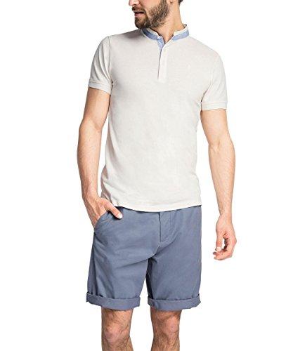 ESPRIT Collection Herren Poloshirt Weiß (White 100)