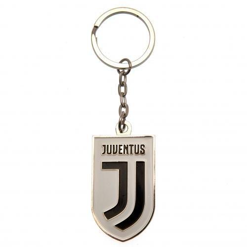Juventus Crest Keyring -