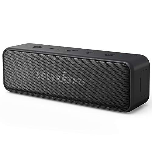 Anker A3109011 Sound Core Motion B Altoparlante Bluetooth portatile, 12W stereo Sound e forte bassup tecnologia, IPX7impermeabile, Nero