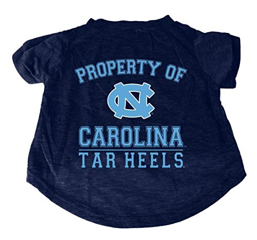 NCAA Hunde-T-Shirt Property of, UNC Tar Heels, Small