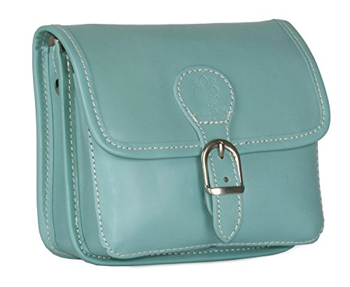 Big Handbag Shop, Borsa a tracolla donna One Aqua Blue