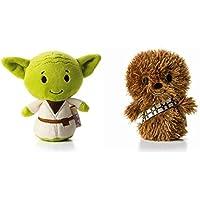 Hallmark Star Wars Itty Bitty Set Of 2 Yoda and Chewbacca Soft Toys - Peluches y Puzzles precios baratos