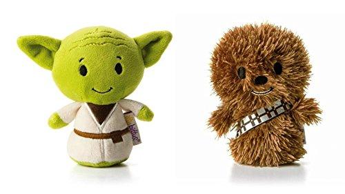 hallmark-star-wars-itty-bitty-set-of-2-yoda-and-chewbacca-soft-toys
