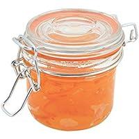 Genware nev-tj-l Glas Terrine Jar, 200ml, 8.2cm x 8.1cm