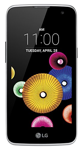 "LG K4 K120E - Smartphone de 4.5"" (Quad-Core a 1 GHz, 1 GB de RAM, 8 GB, doble cámara de 5 MP y 2 MP, Android), azul"