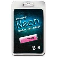 Integral NEON Clé USB 8 Go bleu