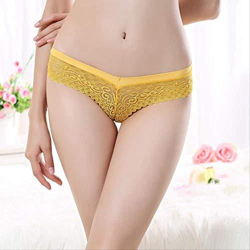 Tangas femeninos amarillos adaptables