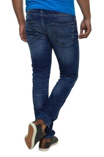 JACK & JONES Herren Ben Original Straight Leg Jeans Blau
