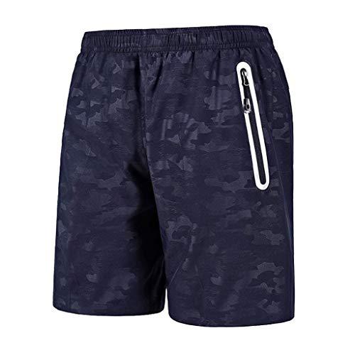 LMRYJQ Pantalon HawaïEn pour Hommes à SéChage Rapide, Plage à Sec, Surfant, Pantalon Court Imprimé Natation Bermuda Pant Shorts De Ba