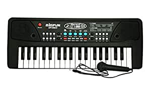 Shade of Toys Electronic Keyboard Piano Learning Toy for Kids (Multicolor)