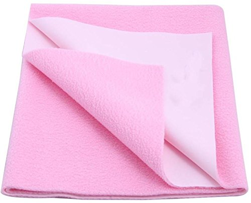 Excellent-Dry-Waterproof-Bed-Protector-Large-Pink