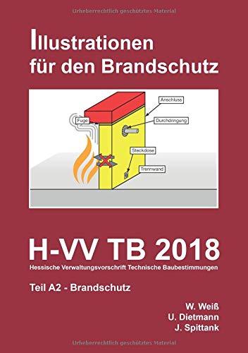 H-VV TB 2018 Hessische Verwaltungsvorschrift Technische Baubestimmungen - Teil A2 Brandschutz: Illustrationen für den Brandschutz (Illustriert für den Brandschutz)