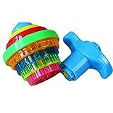1pc Led lampeggiante Luce Trottola Giocattoli Con il giroscopio della novità all'ingrosso Giocattoli favori di partito dei giocattoli dei bambini
