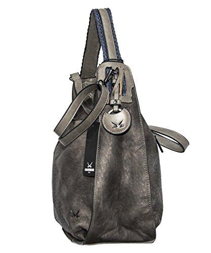 Sansibar Eros Borsa tote 38 cm Grey