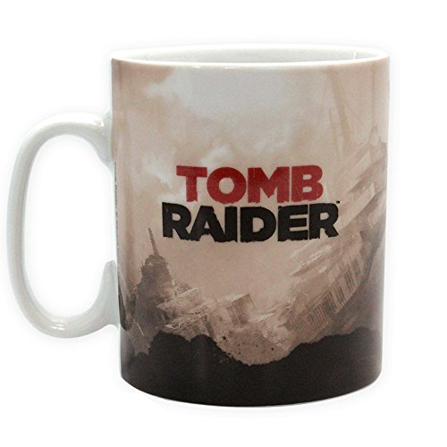 Tasse 460 ml Porcelaine Avec Boîte 'Tomb Raider' - Lara Croft