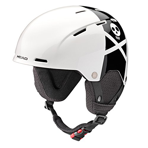 HEAD Kinder Taylor Rebels Ski/Snowboard Helm, Kinder, Taylor Rebels, schwarz/weiß -