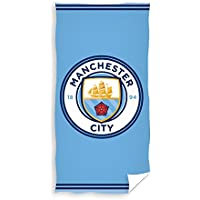 Manchester City FC MCFC Towel Beach Towel Bath Towel 70x 140cm