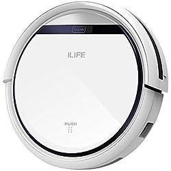 ILIFE V3s Robot Aspirador y Limpieza de Suelos, Blanco