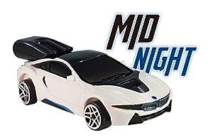 Whistle Racer WR1MNBC2 - Coche de Juguete para Medianoche, Color Blanco