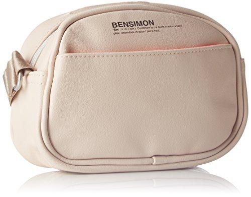 Bensimon - Round Bag, Borsa a tracolla Donna Rosa (Rose Pale)