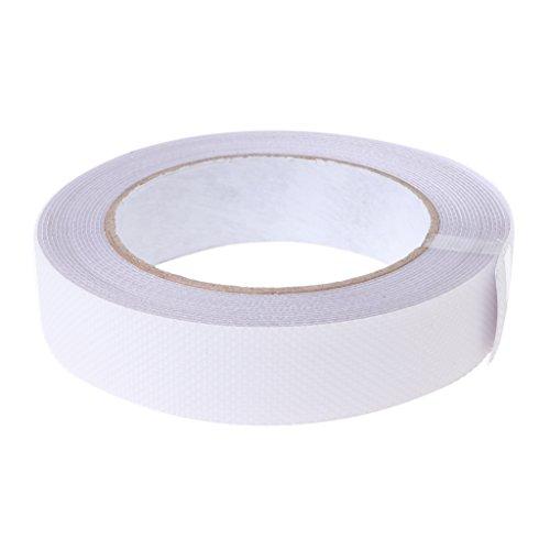 JAGENIE Boden Sicherheit Rutschfeste Tape Badewanne Rutschfeste Aufkleber Aufkleber Wasserdicht 5m x 25mm,–Weiß
