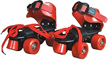 Toy Arena Roller Skates for Kids Age Group 6-12 Years Adjustable Inline Skating Shoes for biggners (Multi Color)